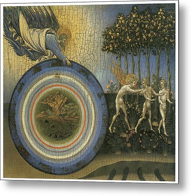 Expulsion From Paradise Metal Print by Giovanni Di Paolo