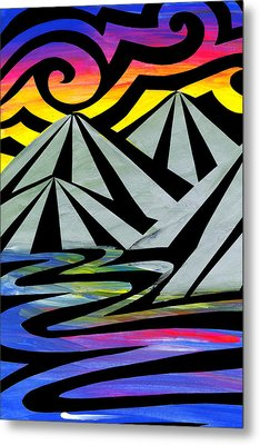 Extreme Alps Metal Print by Roseanne Jones
