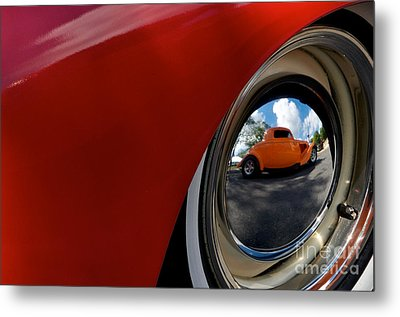 Eye Of Envy Metal Print by Sherry Davis
