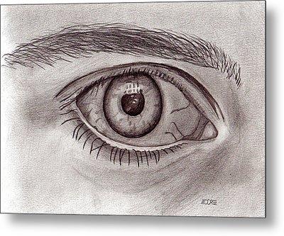 Eye Metal Print by Pat Moore