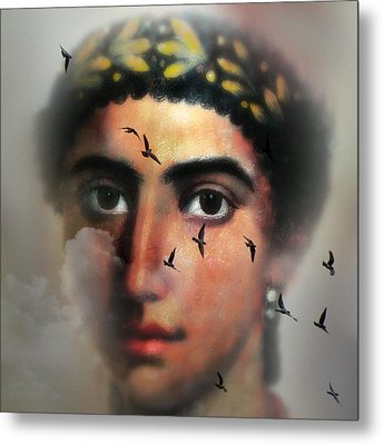 Eyes From The Past Metal Print by Mostafa Moftah