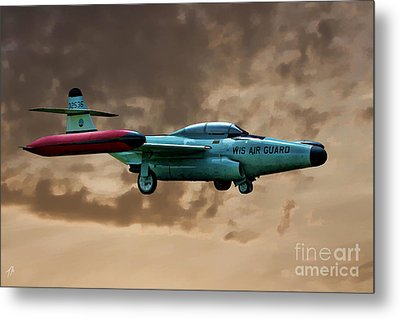F-89 Scorpion Metal Print by Tommy Anderson