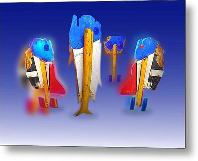 Fab Four Metal Print by Charles Stuart