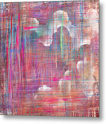 Fabric Of A Dream Metal Print by Rachel Christine Nowicki
