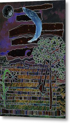 Fabric Of Life 2 Metal Print by Kenneth James