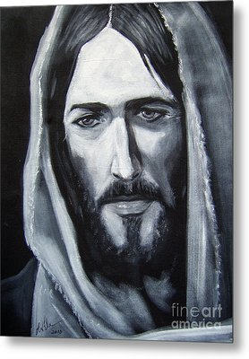 Face Of Christ - One Metal Print