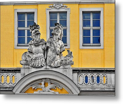 Faces Of Places In Dresden Metal Print by Christine Till