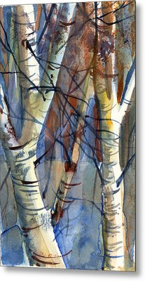 Fade To Autumn Metal Print by Mindy Newman
