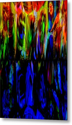 Fade To Blue Metal Print by Angelina Vick