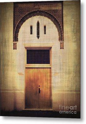 Faded Doorway Metal Print by Perry Webster