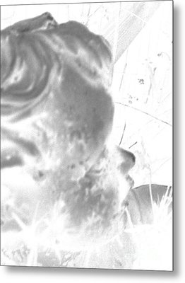 Metal Print featuring the photograph Fading Memories Of A Baby by Renee Trenholm