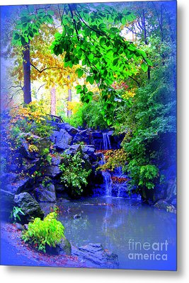 Fairyland Metal Print by Maria Scarfone