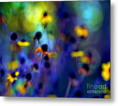 Fairyland Painting Metal Print by Andrea Kollo