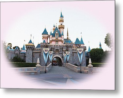 Fairytale Castle Metal Print