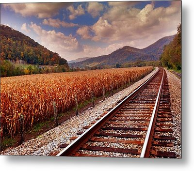 Fall Days Metal Print