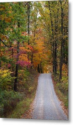 Fall In Southern Indiana Metal Print