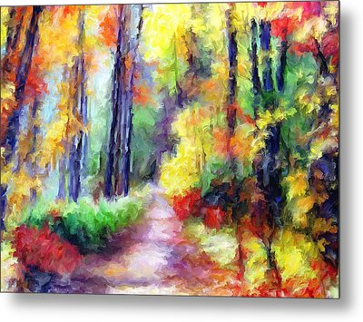 Fall Melody Metal Print