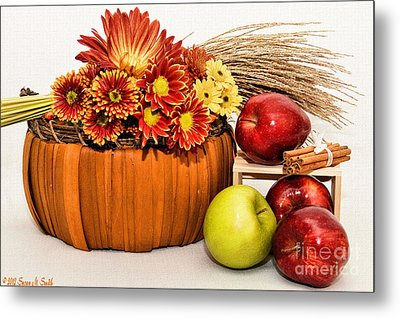 Fall Pleasures Metal Print by Susan Smith