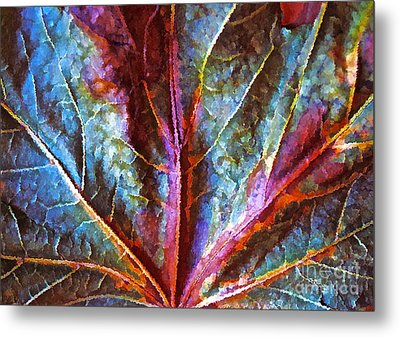 Fall Up Close Metal Print by Gwyn Newcombe