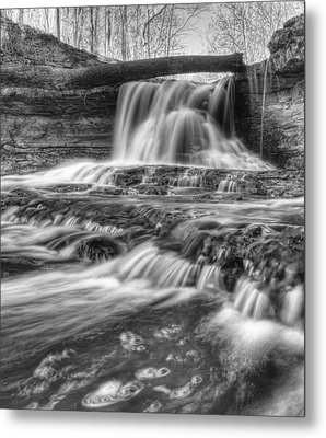 Metal Print featuring the photograph Fallen Bridge by Coby Cooper