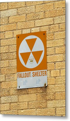 Fallout Shelter Metal Print by Nikki Marie Smith