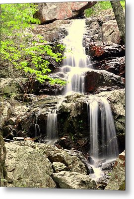 Falls Metal Print by Marty Koch