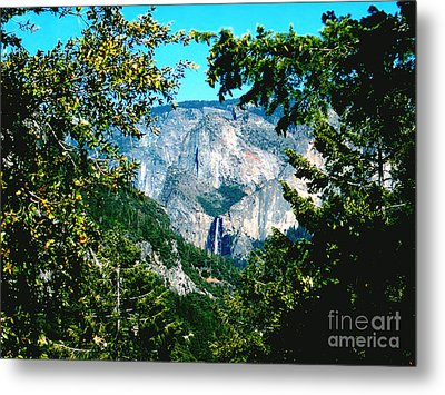 Falls Through The Trees Metal Print by The Kepharts