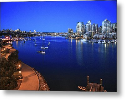 Metal Print featuring the photograph False Creek by Scott Holmes