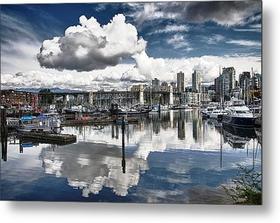 False Creek Vancouver Metal Print by Scott Holmes