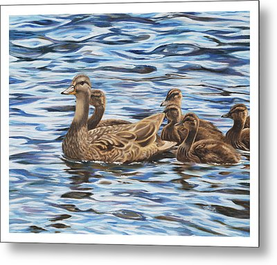 Family Outing Metal Print by Tammy  Taylor