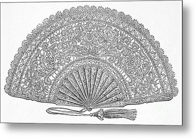 Fan, 1876 Metal Print by Granger