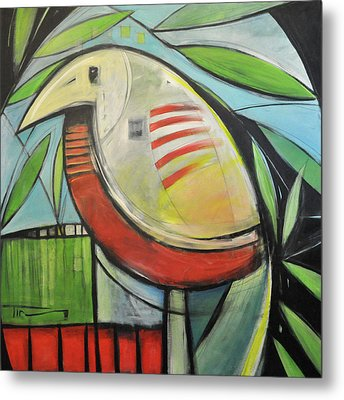 Fancy Bird Metal Print by Tim Nyberg