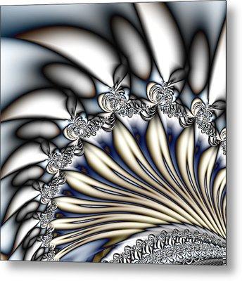 Fanfare - An Abstract Fractal Design Metal Print