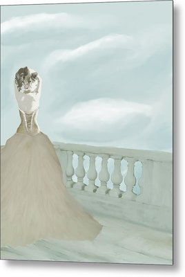 Fantasy Bride Metal Print by Stacy Parker