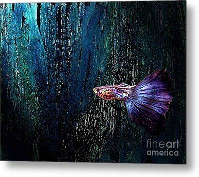 Fantasy Fish Art  Metal Print by Mario Perez