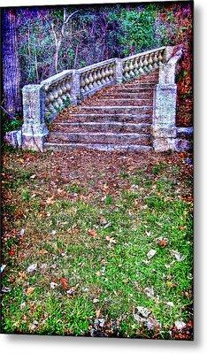 Fantasy Stairway Metal Print by Olivier Le Queinec