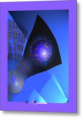 Farflow Metal Print by Charles Carlos Odom