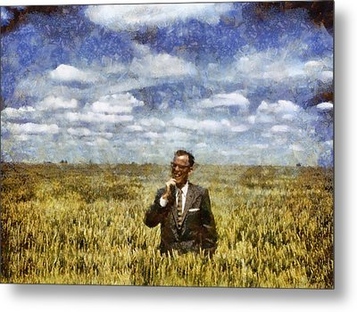 Farm Life - A Good Crop Metal Print by Nikki Marie Smith