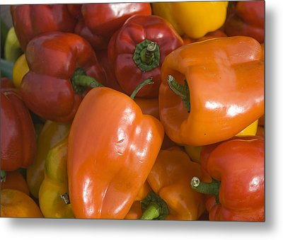 Metal Print featuring the photograph Farmers Market - 009 by Lisa Missenda