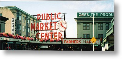 Farmer's Market Metal Print by C Sitton