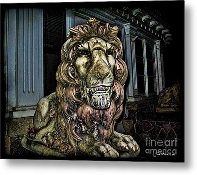Farnam Manor Haunt Metal Print by Joan  Minchak