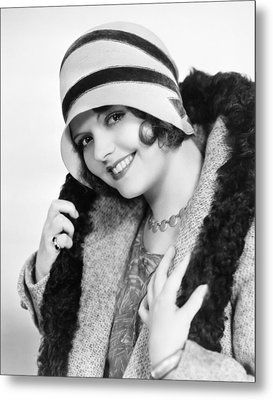 Fashion: Cloche Hat, 1929 Metal Print by Granger