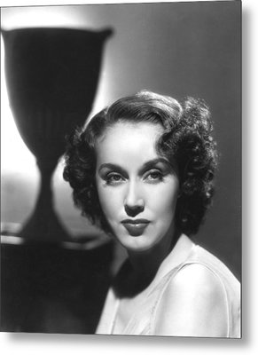 Fay Wray, Columbia Pictures, Ca. Late Metal Print by Everett