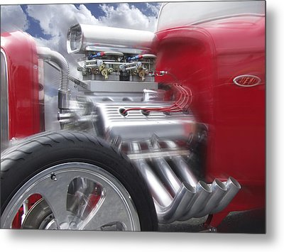 Feel The Power Metal Print by Mike McGlothlen