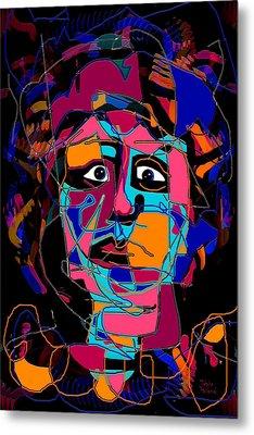 Feeling Blue Metal Print by Natalie Holland