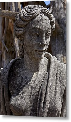 Female Statue Metal Print