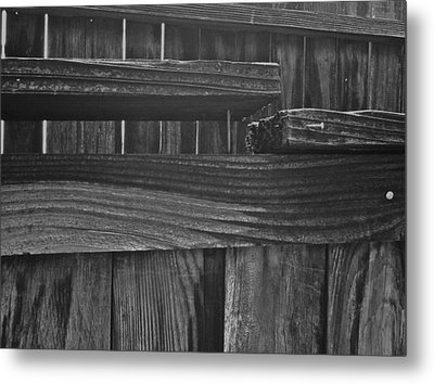 Metal Print featuring the photograph Fence To Nowhere by Bill Owen