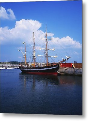 Fenit, Co Kerry, Ireland Famine Ship Metal Print by The Irish Image Collection