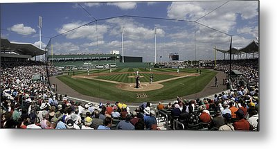 Fenway South Metal Print by Paul Plaine
