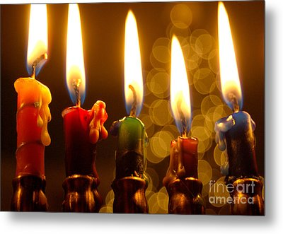 Metal Print featuring the photograph Festival Of Lights by Linda Mesibov